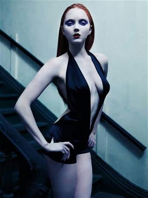sexy goth lily cole  thingys   pinterest