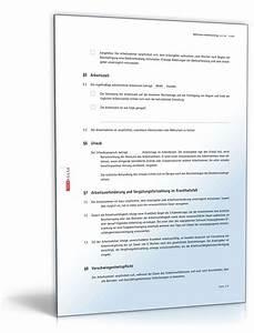 Kündigungsfrist Befristeter Mietvertrag : befristeter arbeitsvertrag rechtssicheres muster zum download ~ Lizthompson.info Haus und Dekorationen