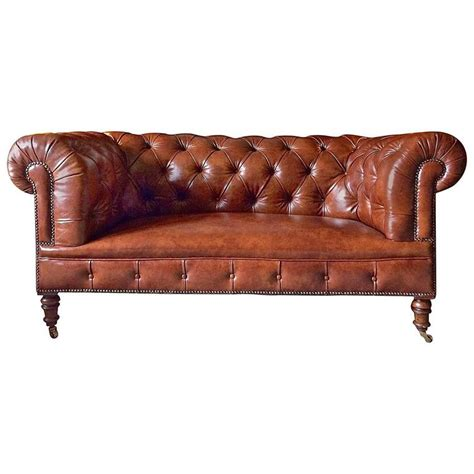 chesterfield settees for sale howard and sons antique chesterfield sofa settee