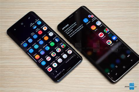 samsung galaxy s9 and s9 vs galaxy s8 and s8 phonearena