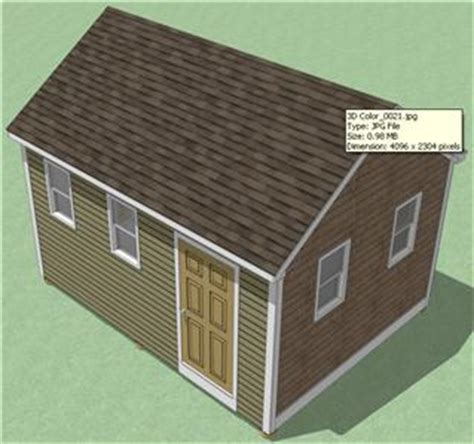12x16 Wood Storage Shed Plans by Scle Step By Step Storage Shed Plans