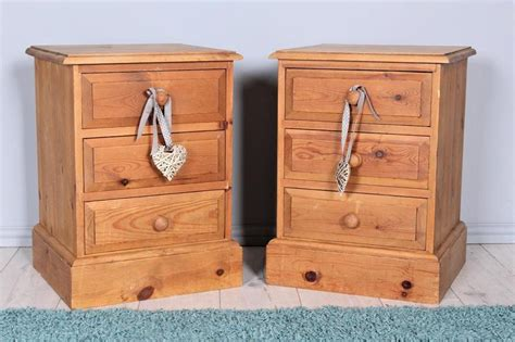 delivery options   rustic solid pine  drawers bedside