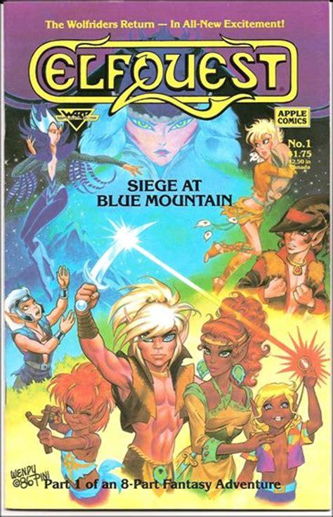 siege de apple elfquest siege at blue mountain 1 a mar 1987 book