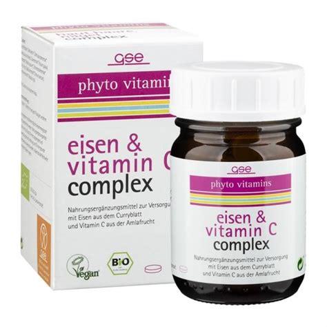 gse phyto vitamins eisen vitamin  complex