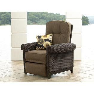 la z boy maddox recliner outdoor living patio