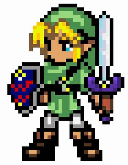 Pixel Zelda Maker Transparent Legend Link Bit