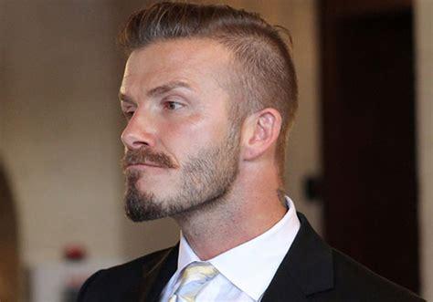 David Beckham Fade Haircut