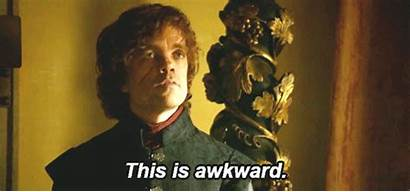 Thrones Tyrion Moment Awkward Embarrassing Well Shocking
