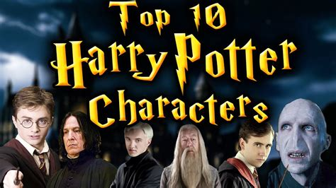 Images Of Characters Top 10 Harry Potter Characters