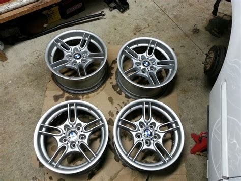 """If so can you please post a pic? BMW Style 66 E39 E38 17"""" M Sport OEM Wheels Rims M ..."""