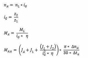 Drehmoment Motor Berechnen : kupplung und antriebsmoment berechnen ~ Themetempest.com Abrechnung