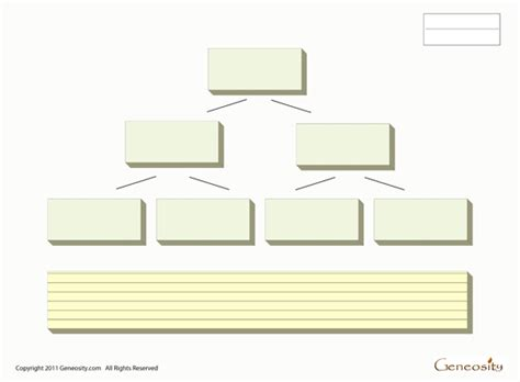 blank family tree form fillable  form
