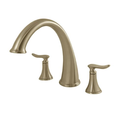 moen quinn kitchen faucet moen quinn brushed nickel tub faucet w valve ebay