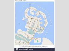 Bahrain Map Stock Photos & Bahrain Map Stock Images Alamy