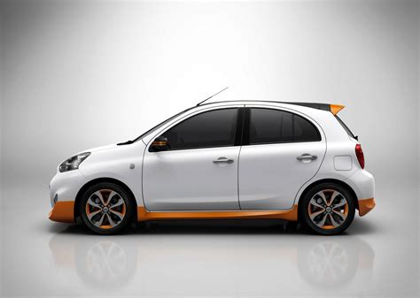 gold body kit micra  called nissan march rio