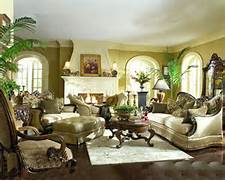 Living Room Collection by AICO Living Room Set Chateau Beauvais AI 758