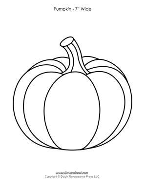 pumpkin templates paper pumpkins printables