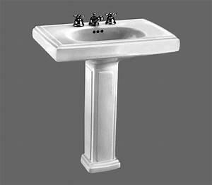 Heritage Pedestal Sink 0191 134 Manuals