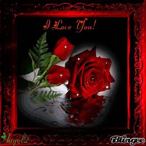 I Love You Roses Picture #120407610 | Blingee.com