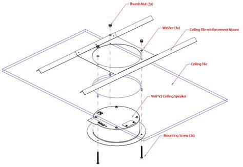 cyberdata wall mount adaptor