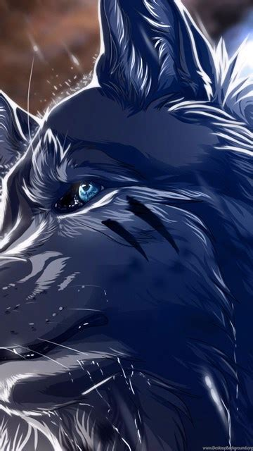 Anime Wolf Wallpaper Android by Blue Wolf 2016 4k Anime Wallpapers Desktop Background
