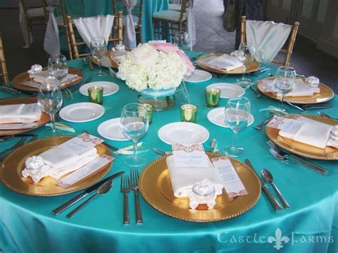 turquoise and gold wedding decor search reception decor inspiration