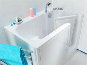 Baignoire Avec Porte Lapeyre : baignoire a porte rectangulaire albatros ~ Premium-room.com Idées de Décoration