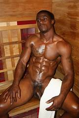Sexy black men's bodies
