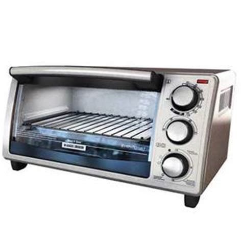 Black And Decker Countertop Oven Tro480bs by Black Decker 4 Slice Toaster Oven To1420b Tro420