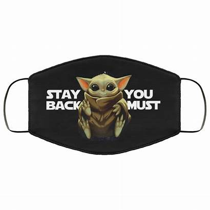 Yoda Mask Must Face Stay Teemoonley Allbluetees