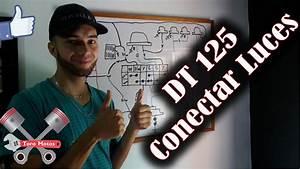 Yamaha Dt 125 Sistema De Luces Diagrama El U00e9ctrico Parte 2