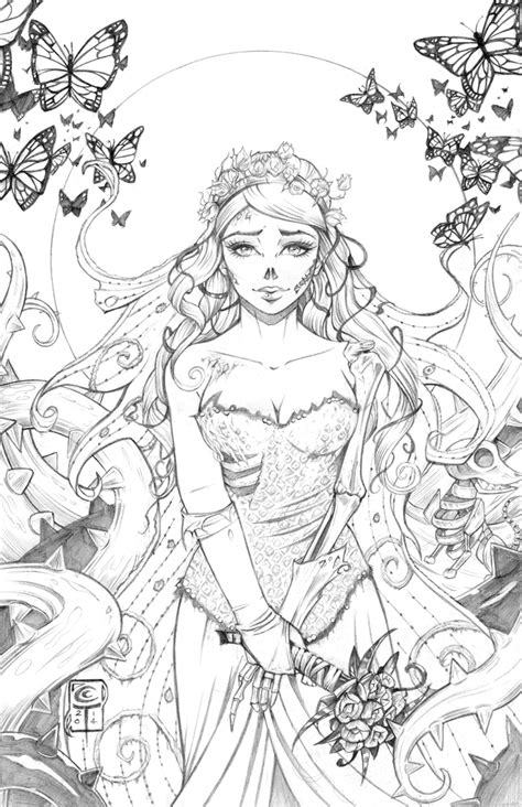 Corpse Bride Pencils by ColletteTurner on DeviantArt