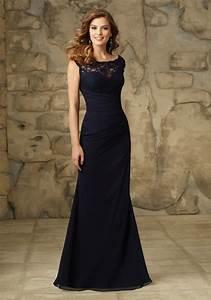 beautiful lace and chiffon morilee bridesmaid dress with With chiffon and lace wedding dress