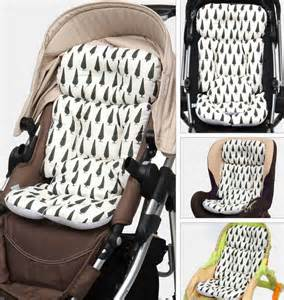 stroller liner car seat pad air mesh cover cushion for 4