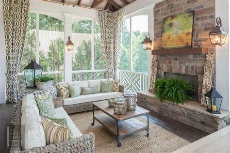 screened porch with fireplace portfolio the porch companythe porch company