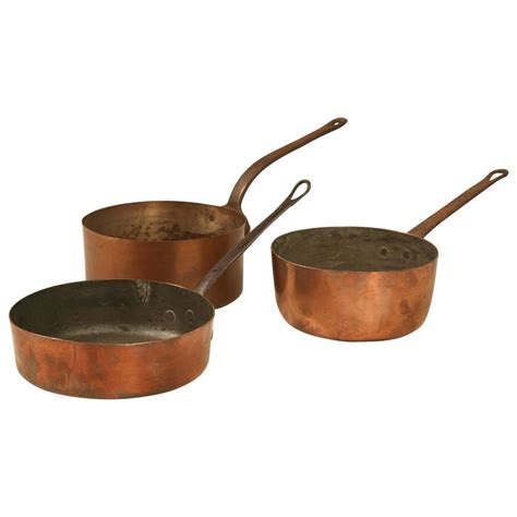copper pans and pots antique copper pots and pans for sale at 1stdibs