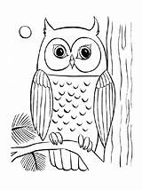 Owl Coloring Simple Cool Bestappsforkids Printable Sheets Mandala Adult Related Difficult Young Drawing Barn Books Malen Stumble Tweet Getcolorings Eule sketch template