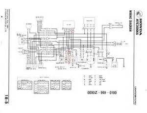 similiar 1985 honda 250 big red wiring diagram keywords 1984 honda 200es big red as well honda recon 250 wiring diagram