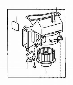 Toyota Camry Hvac Blower Motor Resistor  Lower   Manual