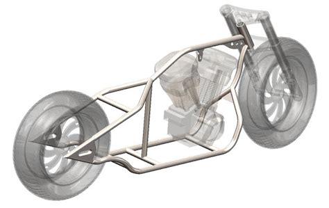 240 Chopper Frame Plans