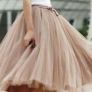 Street-Style Tulle Skirt