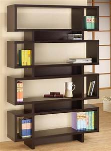 Bookcase designer wooden bookcase design built in for Interior design bookshelf arrangement