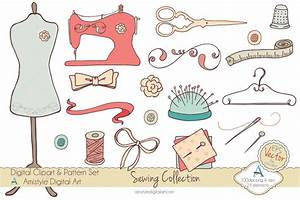 Embroidery Tools Clipart - Clipart Suggest
