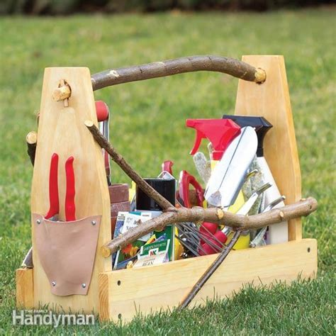 Store Garden Hand Tools: Make a Handmade Toolbox   The