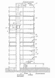 Patent Us8794389 - Interface Between Fire Panel And Elevator Controller