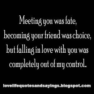 Meeting You Quotes. QuotesGram