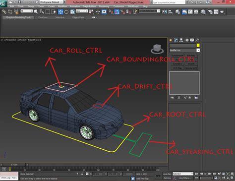 flex muscles rigging in 3ds max tutorial car rigging 3ds max tutorial 视频 3ds max Inspirational