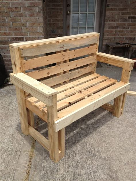 Furniture Made With Pallets by Pallet Furniture Bench Seat Http Dunway Info Pallets