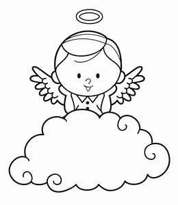 Engel Auf Wolke Schlafend : kostenlose malvorlage engel engel hinter einer wolke zum ausmalen ~ Bigdaddyawards.com Haus und Dekorationen