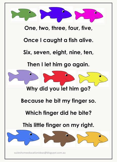 counting songs for preschool fishing for numbers early number learning language 415